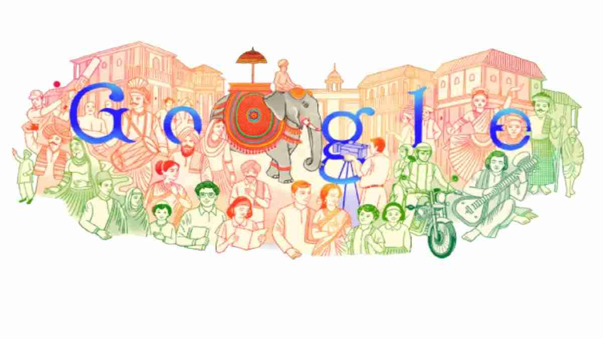 Google Doodle Republic Day 2021