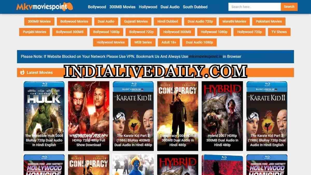 MKVMoviesPoint Dual Audio Movies Download