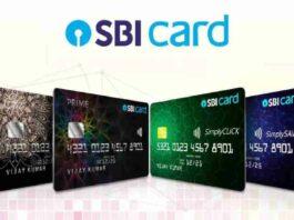 SBI credit cards