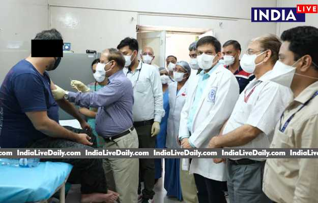 India's First COVID-19 Vaccine Trail on AIIMS on A 30 Age Man
