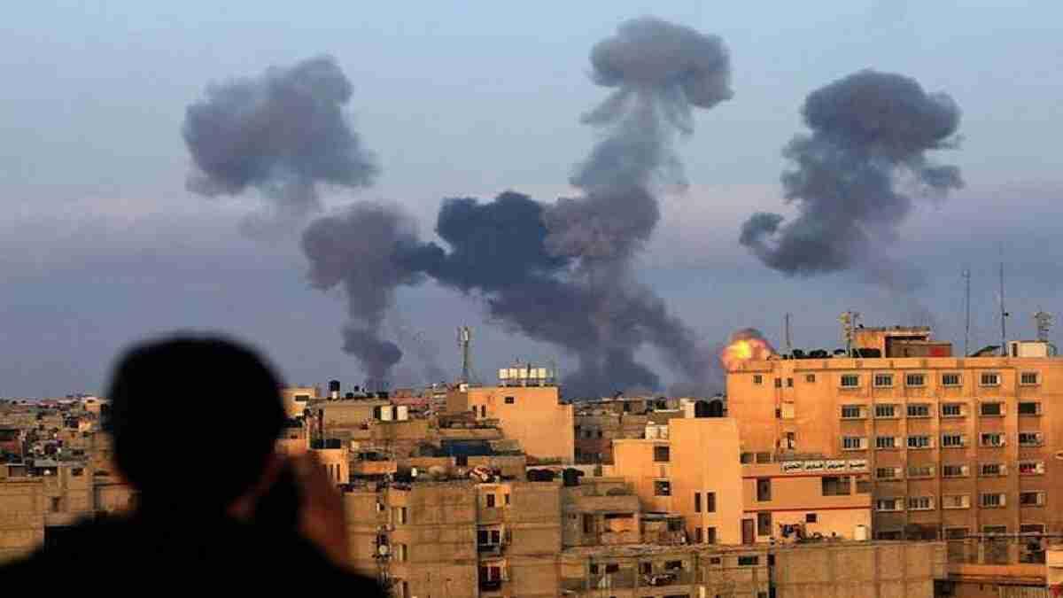 Israel and Hamas clash