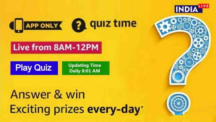 Today Amazon Quiz All Answers