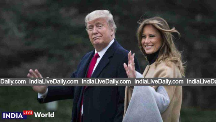 Donald Trump with Wife Melania Trump