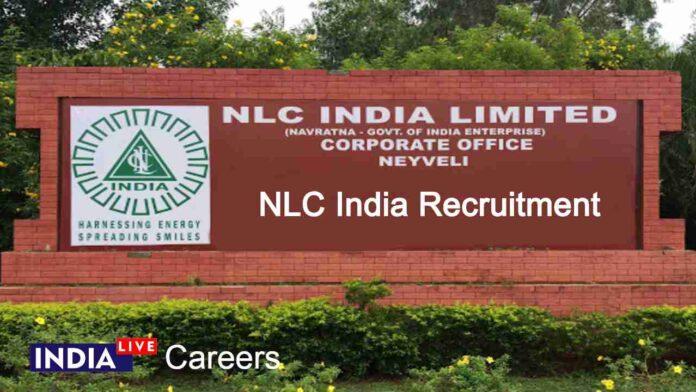NLC India Recruitment