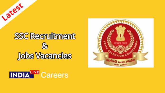 SSC Recruitment Jobs