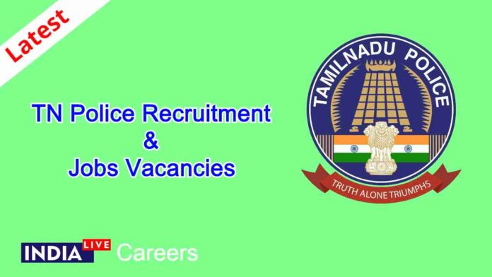 Tamil Nadu TN Police Recruitment Jobs